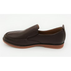 "AIROS ""Visi"" Dark Coffee Loafers"
