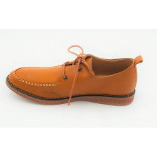 "AIROS ""Mezzo"" Light Coffee Oxfords"