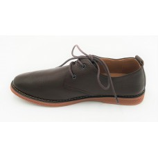"AIROS ""Mezzo"" Dark Coffee Oxfords"