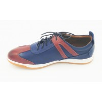 "AIROS ""Amparo"" Dark Blue Sneakers"